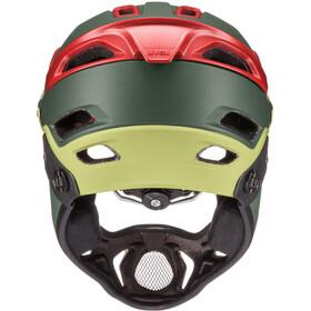UVEX Jakkyl HDE Helmet olive/red mat